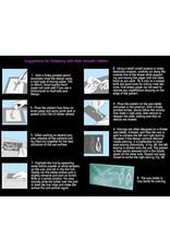 Du-Matt Corporation Wax Tablet Purple (190mmx165mmx5mm) 2 pack