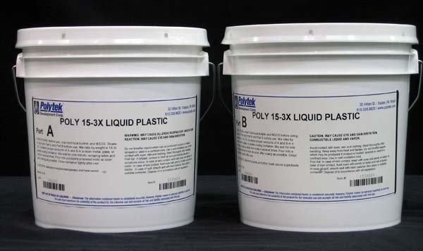 Polytek Poly 15-3X Gallon Kit (20lb)