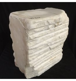 Stone 105lb Chinese White Marble 13x12x6 #44333220