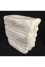 Stone 105lb Chinese White Marble 13x12x6 #44333220