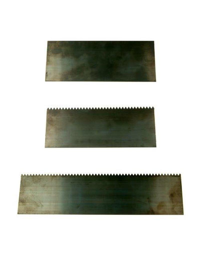 Heavy Steel Block Scrapers - Set of 3