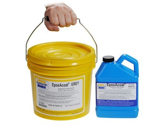 Smooth-On EpoxAcoat Grey Gallon Kit