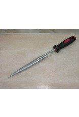 3M Diamond File Half Round Taper 120 Grit