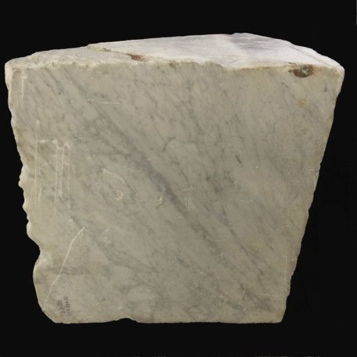 Stone 1,730lb Carrara Bianco blue/gray 41x38x24 #341009