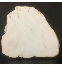 Mother Nature Stone 82lb Tirafsci's White Opaque slab 17x14x6 #111010