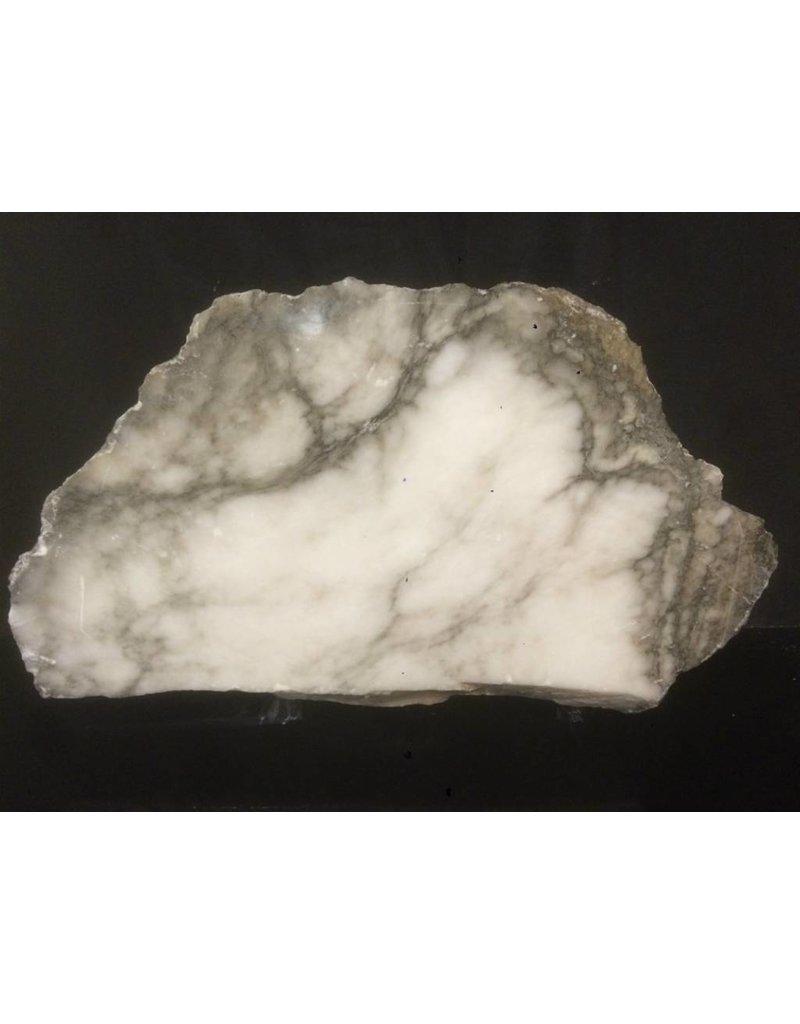 Stone 108lb Scaglione Alabaster Slab 28x16x4.5 #44332231