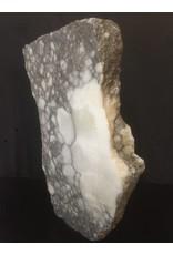 Stone 166lb Scaglione Alabaster Slab 23x22x3.5 #44332233
