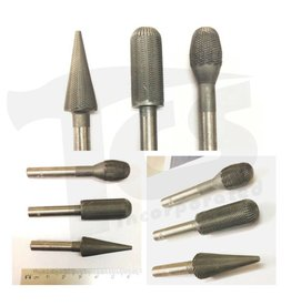 1/4 Steel Burr Set (3)
