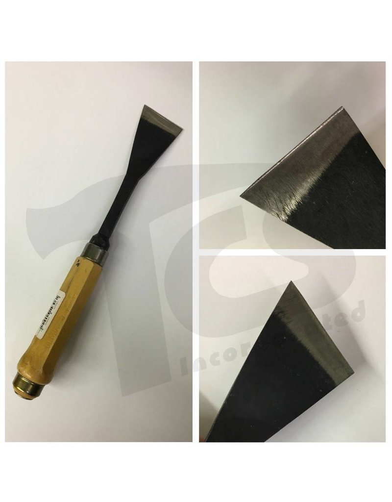 Sculpture House #2/#51 Fish Tail Skew Chisel 2'' (50mm)