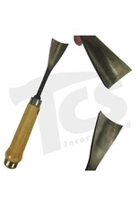 """Sculpture House Inc. #5/#54 Fish Tail Wood Gouge 2"""" (50mm)"""