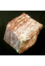 Mother Nature Stone 16lbs Red Raspberry Alabaster 8.5x7.5x5.5 #161052