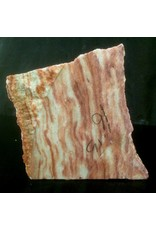 Stone 16lbs Red Raspberry Alabaster 8.5x7.5x5.5 #161052