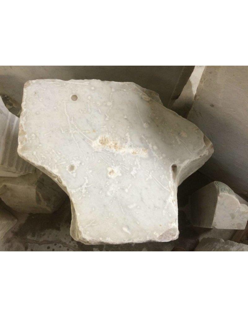 Stone 819lb Carrara Bianco blue/gray 30x23x20 #341014