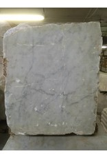 Stone 670lb Carrara Bianco blue/gray 21x21x17 #341015