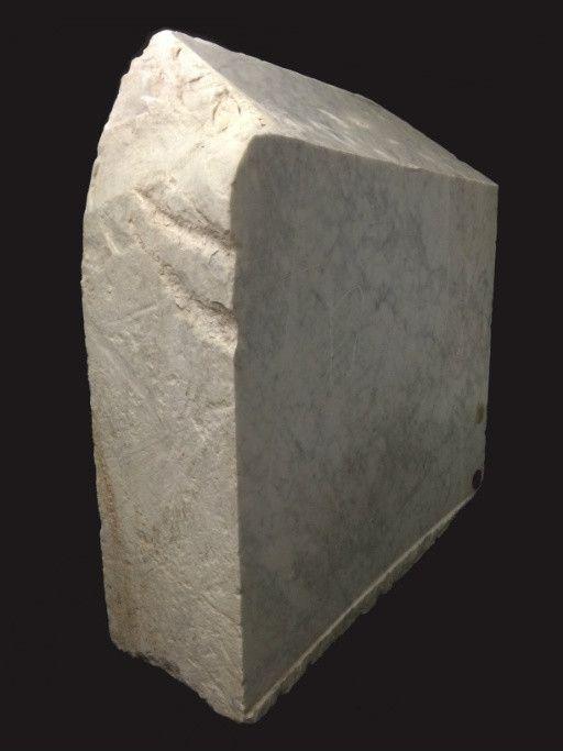 Stone 2750lb Carrara Bianco blue/gray 48x41x16 #341016