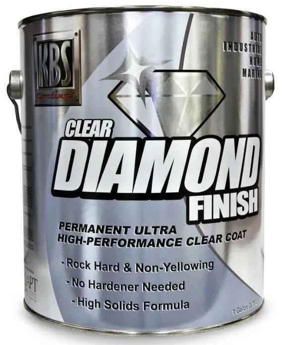 KBS Diamond Clear Finish Gloss Gallon