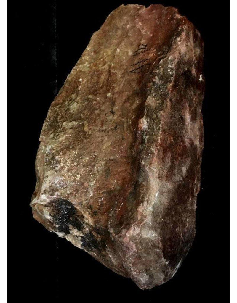 Stone 41lb Gala Red Soapstone 12x7x6 #031017