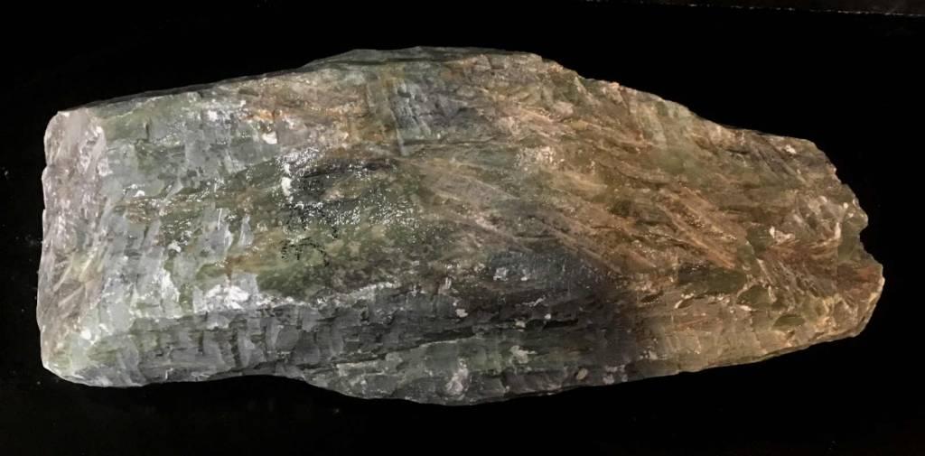 Stone 33lb Apple Green Soapstone 18x5x4 #021014