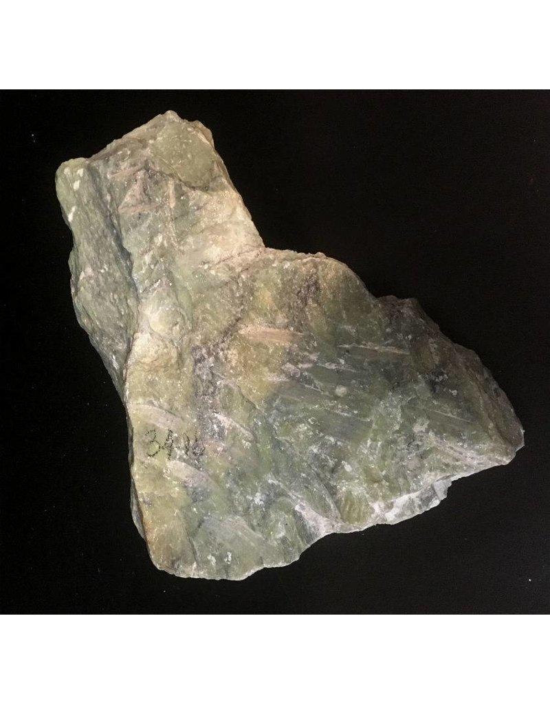 Stone 34lb Apple Green Soapstone 13x11x4 #021017