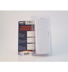 Dico Products Corp White Rouge Buffing Compound Small Brick
