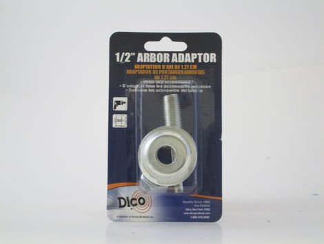 Dico Arbor Adaptor 1/2'' Hole to 1/4'' Shaft