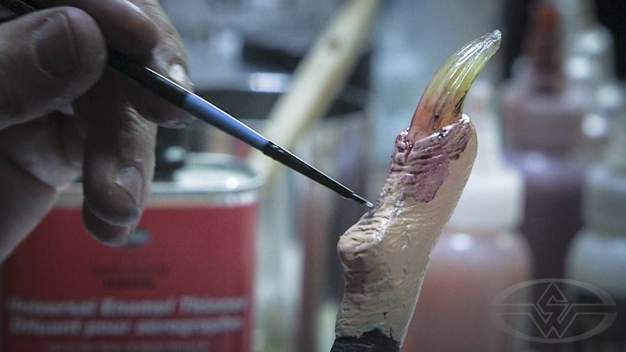 Stan Winston Painting Prosthetic Makeup Appliances - Foam Latex & Silicone Fuller DVD