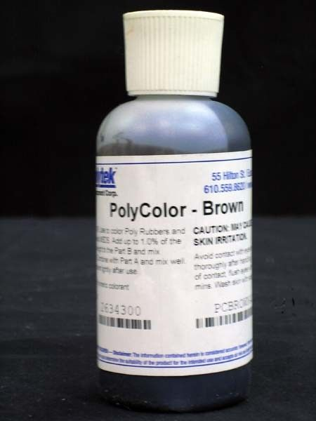Polytek PolyColor Brown 4oz.