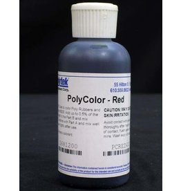 Polytek Development Poly Color Red 4oz.