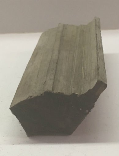 Wood Ebony Chunk 5x1.5x1 #011011