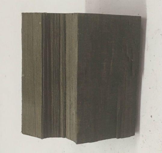 Wood Ebony Gaboon Chunk 2x1.5x1 #011015