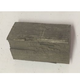 Wood Ebony Chunk 2x1x.5 #011016