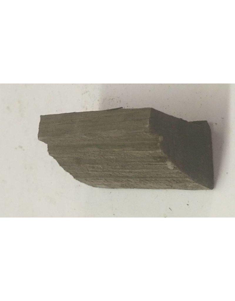 Wood Ebony Chunk 2x1x.5 #011016