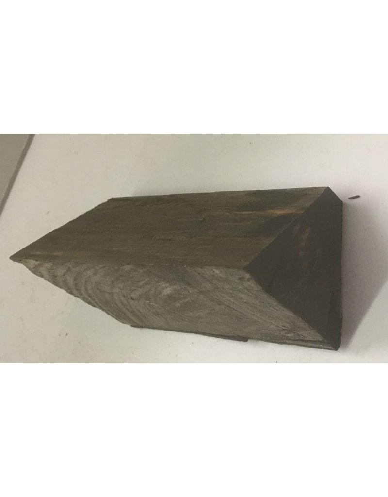 Mother Nature Wood Ebony Chunk 4.5x2.5x2 #011019