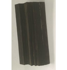 Mother Nature Wood Ebony Chunk 4x1.5x1 #011022