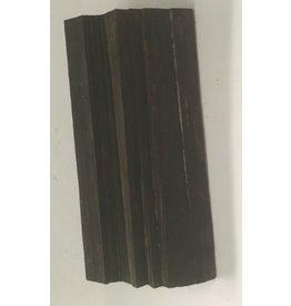 Wood Ebony Chunk 4x1.5x1 #011022
