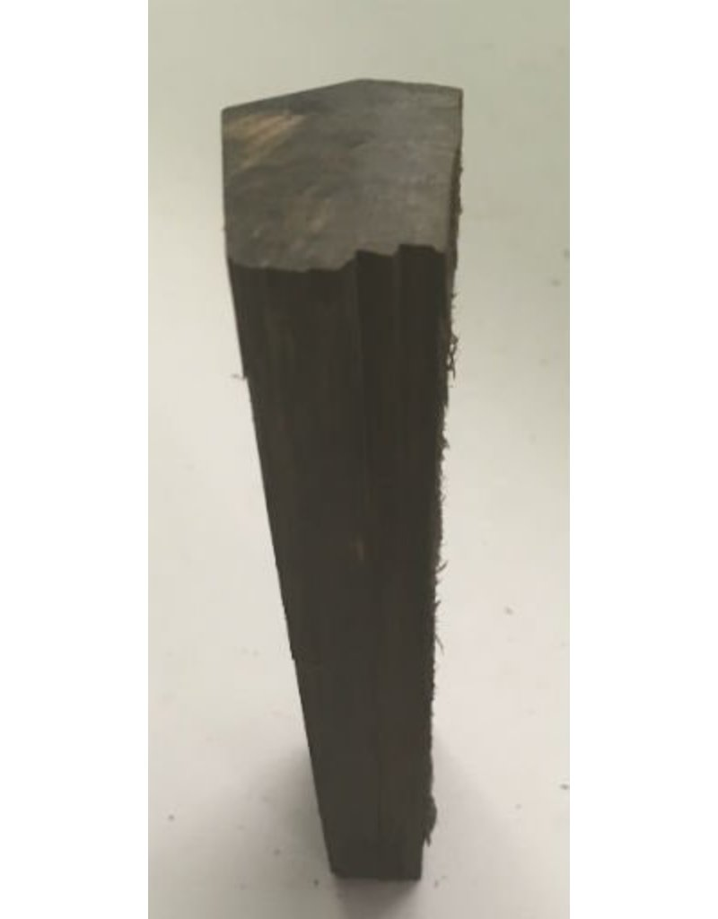 Wood Ebony Chunk 4.5x1x.5 #011033