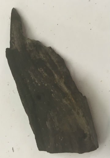 Wood Ebony Chunk 3.5x1x.5 #011034