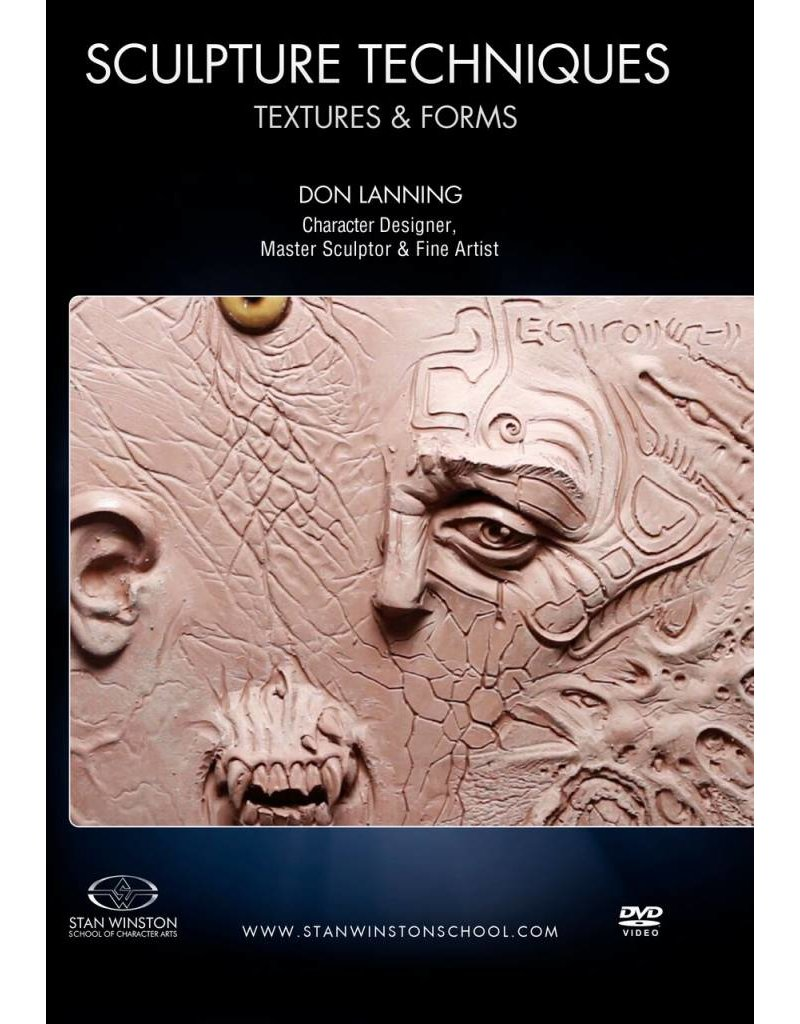 Stan Winston Sculpture Techniques Texture And Forms Lanning DVD