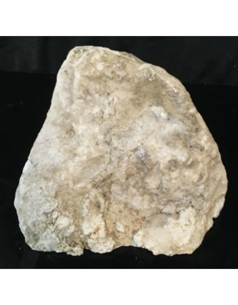 30lb Cream White Banded Onyx Stone 11x10x6 #521022