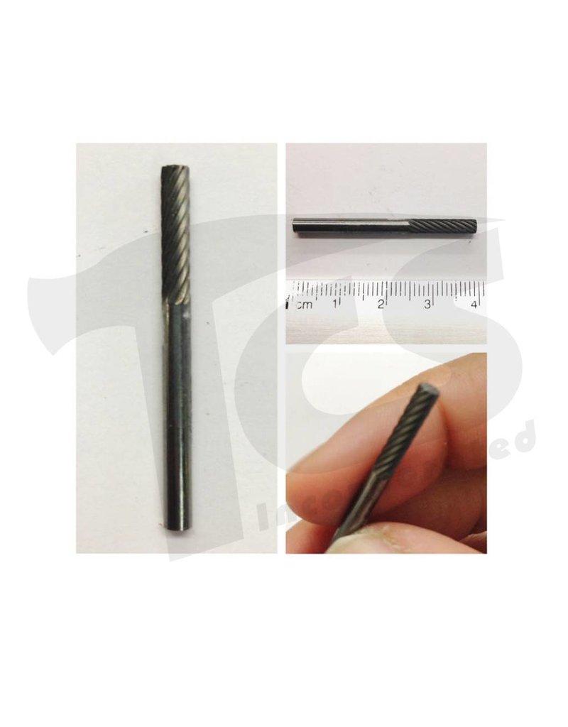 Cylinder Single Cut Carbide Burr SA-43