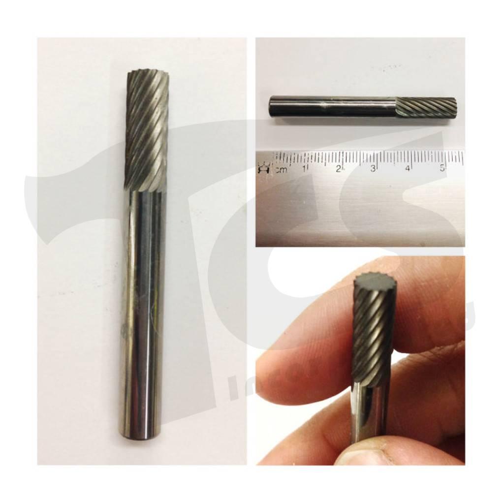 Cylinder Single Cut Carbide Burr SA-1
