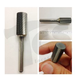 Cylinder End Cut Single Cut Carbide Burr SB-5