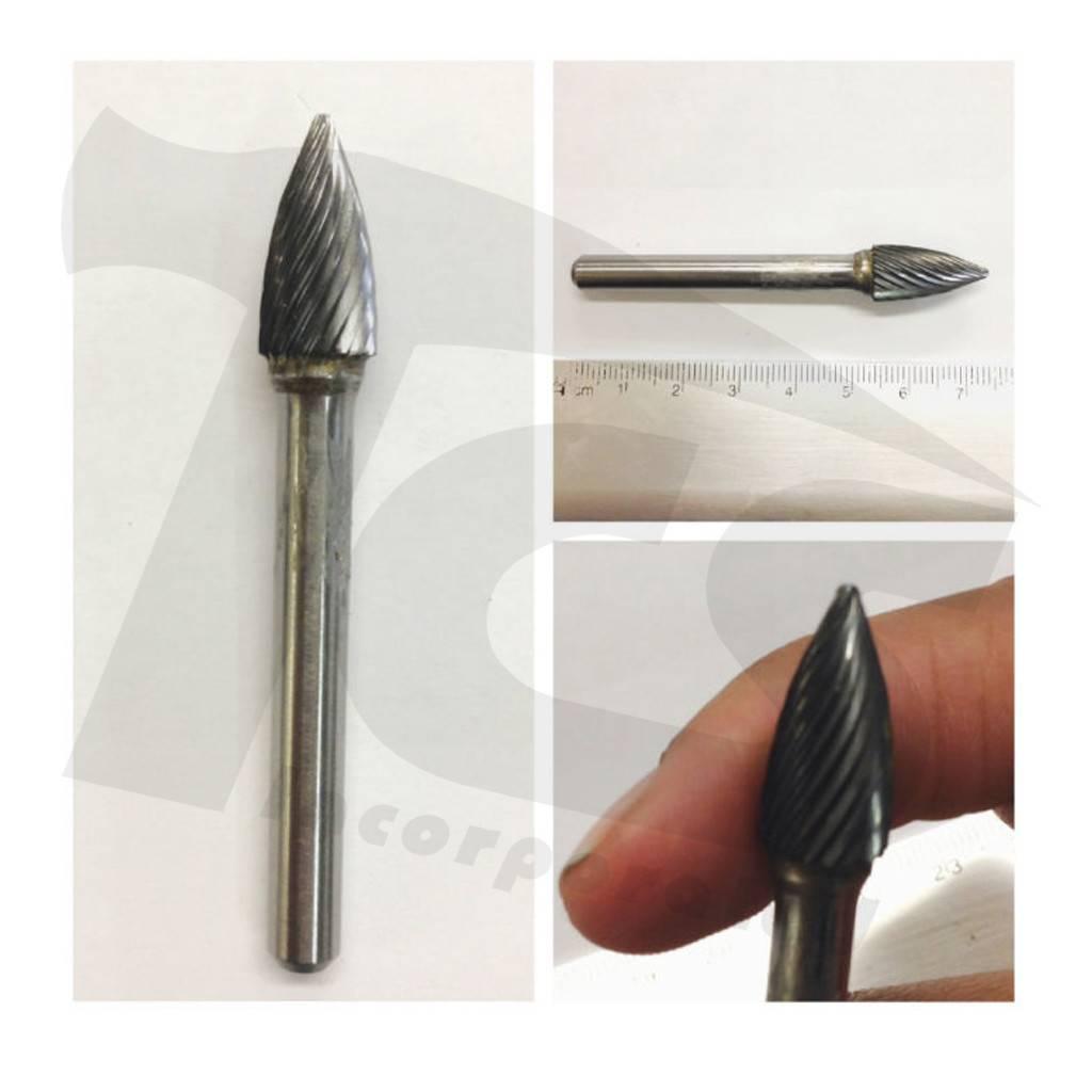 Pointed Tree Single Cut Carbide Burr SG-3
