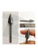 Pointed Tree Single Cut Carbide Burr SG-5