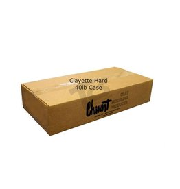 Chavant Clayette Cream Hard 40lb Case (2lb Blocks)