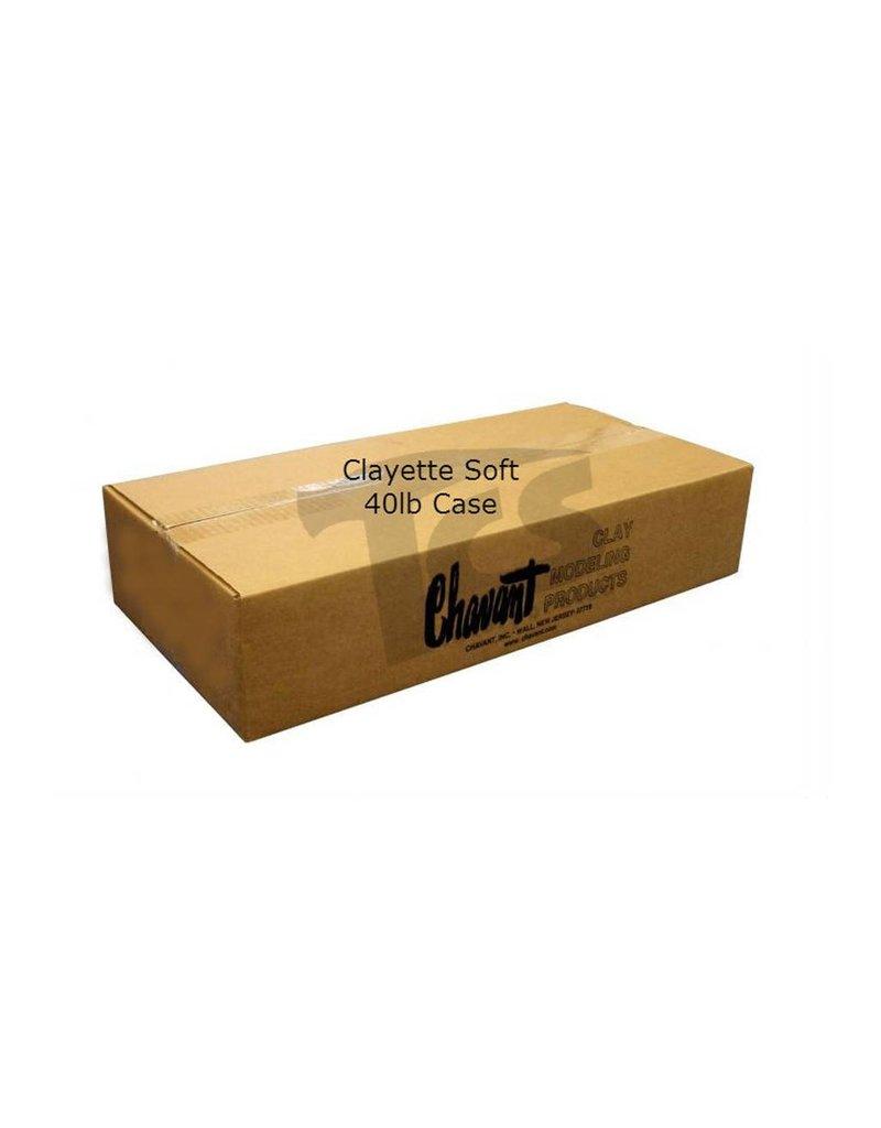 Chavant Chavant Clayette Cream Soft 40lb Case (2lb Blocks)