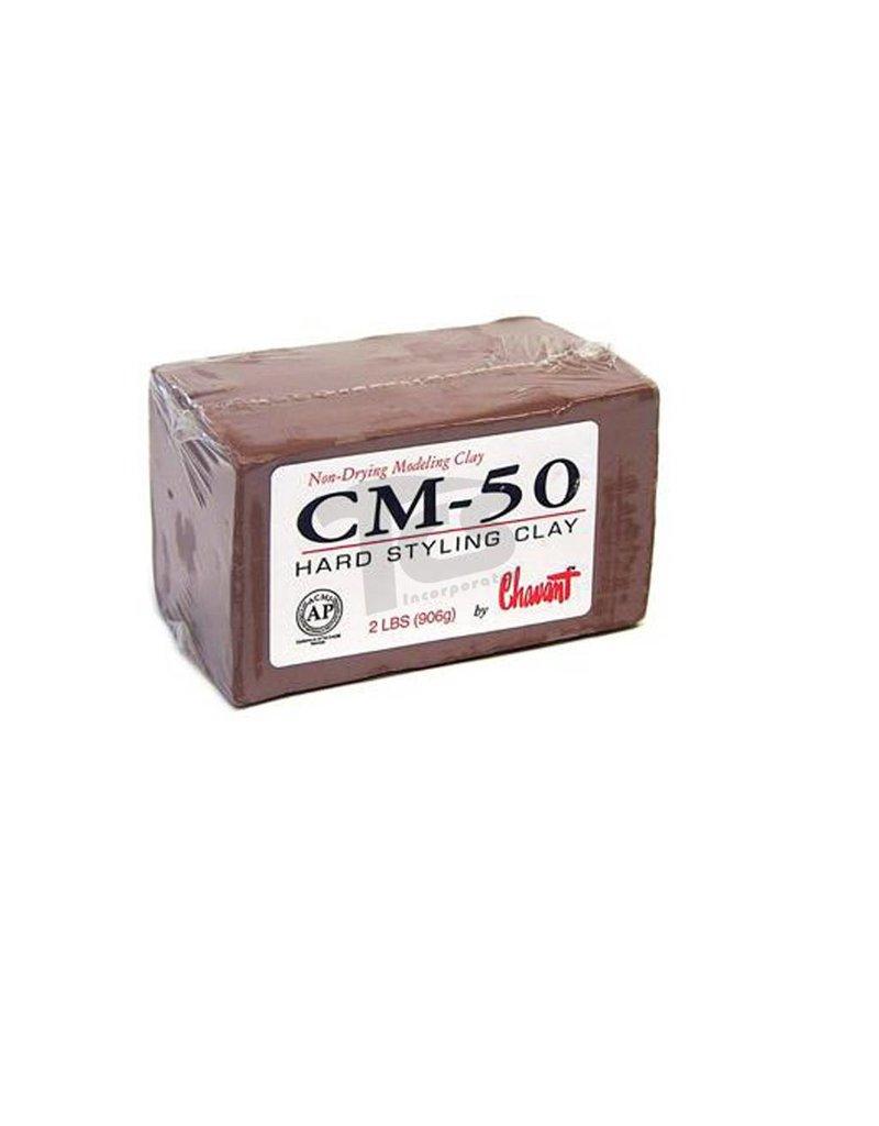 Chavant Chavant CM-50 Brown 40lb Case (2lb Blocks)