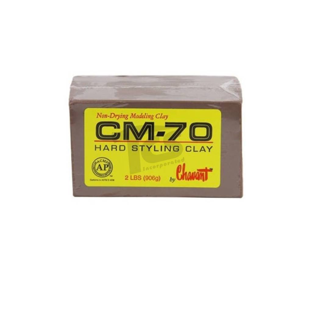 Chavant CM-70 Brown 40lb Case (2lb Blocks)