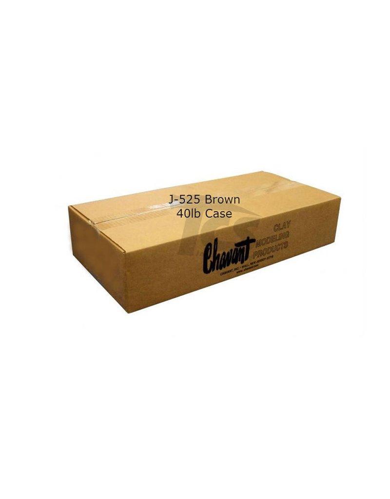 Chavant Chavant J-525 Brown 40lb Case (2lb Blocks)