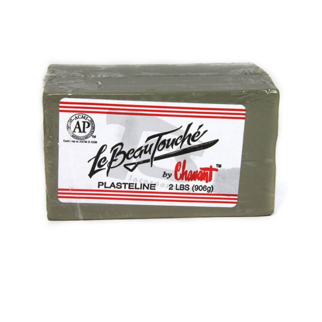Chavant Le Beau Touche Green 40lb Case (2lb Blocks)